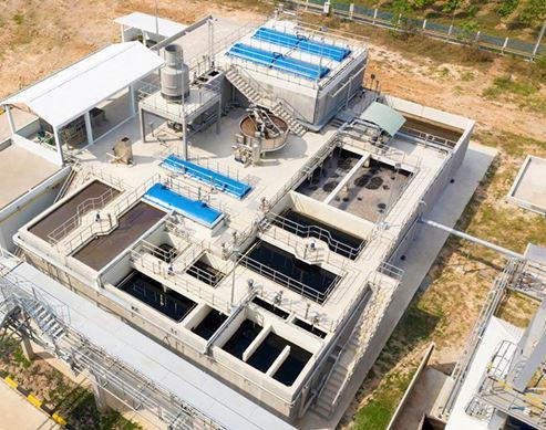 Công trình xử lý nước thải sản xuất sữa