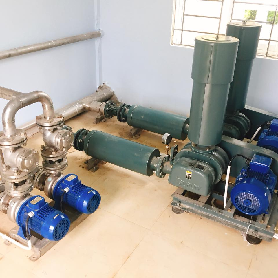 công nghệ xử lý nước thải sinh hoạt khu dân cư