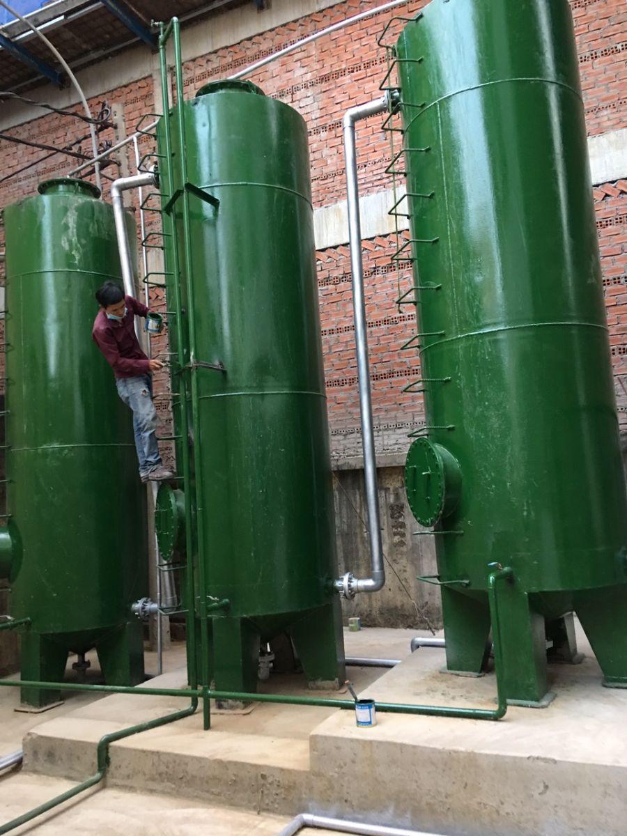 Hệ thống xử lý nước thải kim loại nặng nước sinh hoạt
