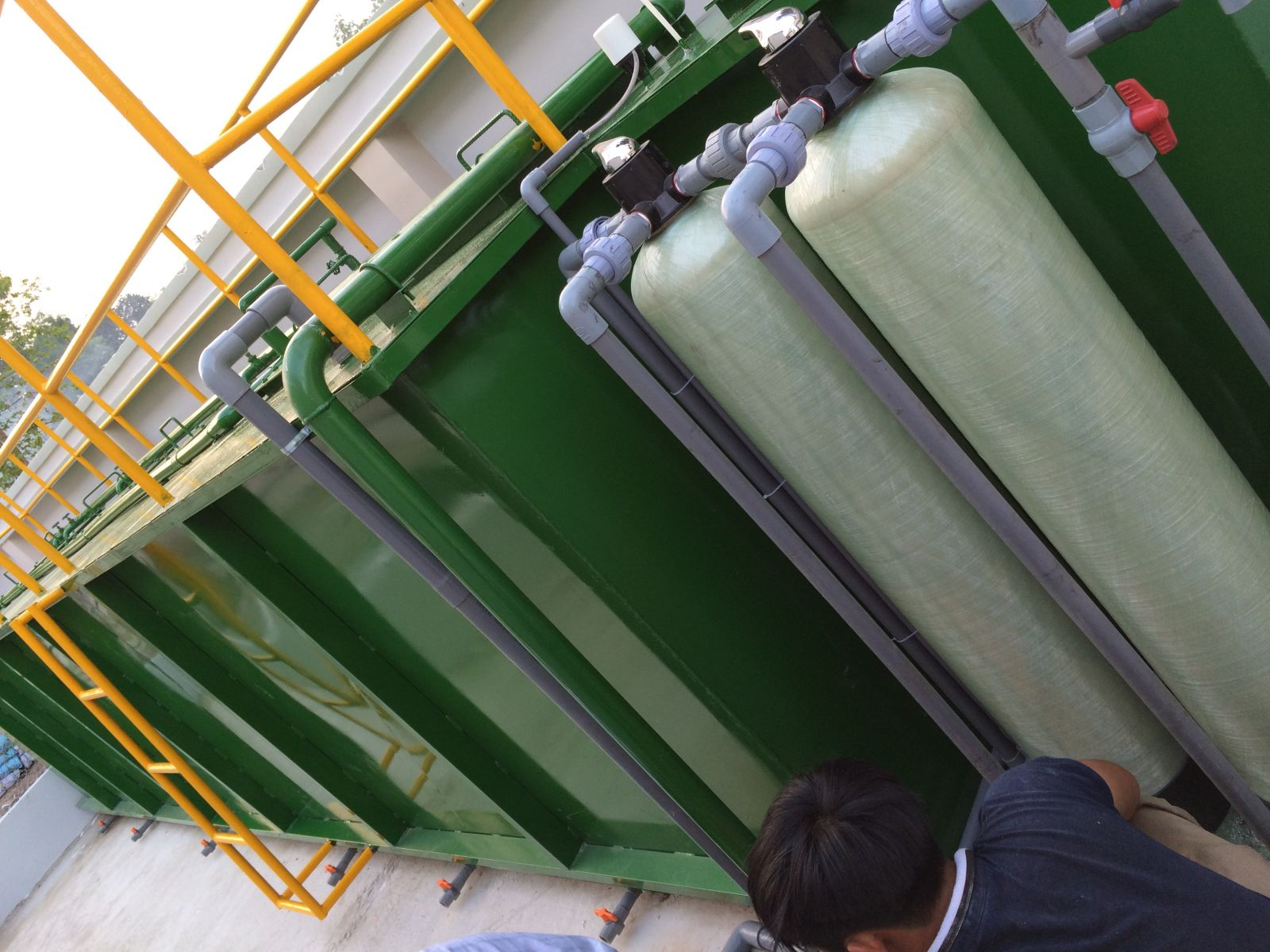 Phương pháp xử lý nước thải phun sơn