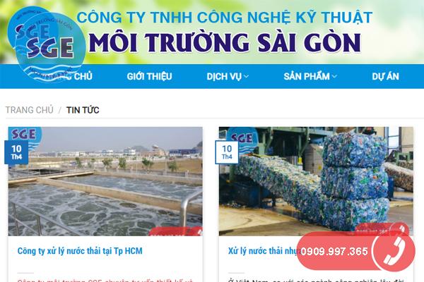 Công ty Môi Trường Sài Gòn SGE
