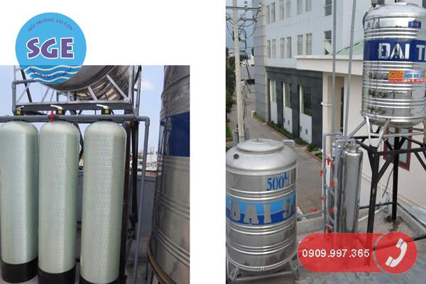 Hệ thống lọc nước giếng khoan trong gia đình