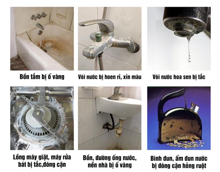 Lọc nước sinh hoạt