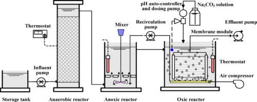 Quy trình xử lý nước thải sinh hoạt AAO