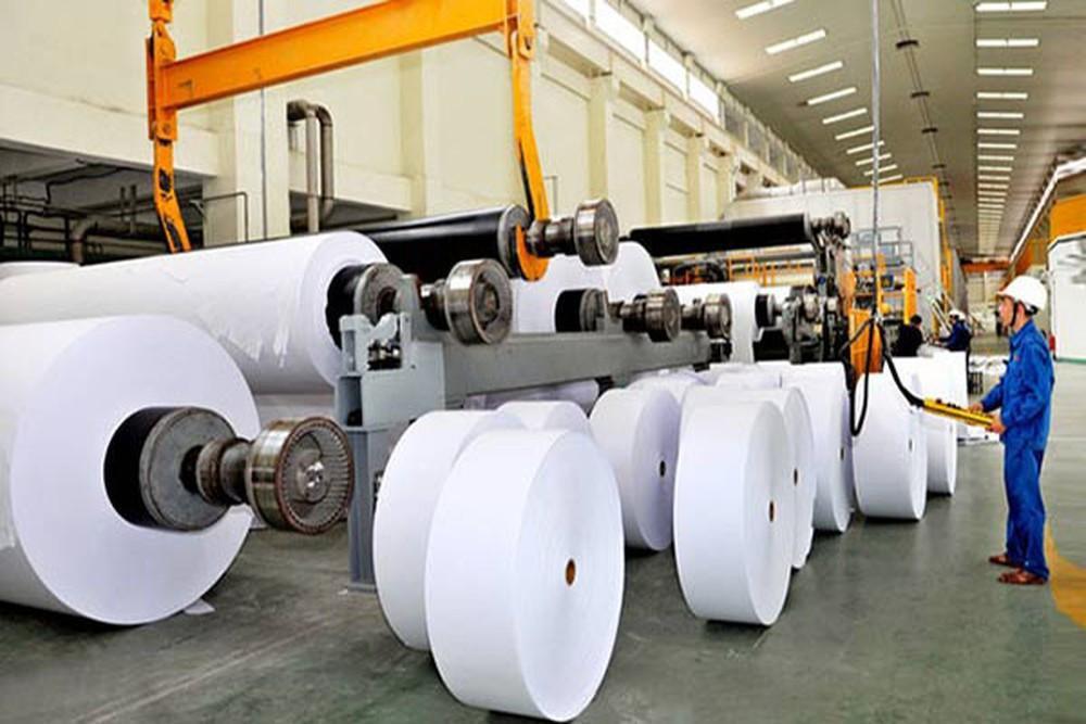 Mô hình nhà máy sản xuất và tái chế giấy
