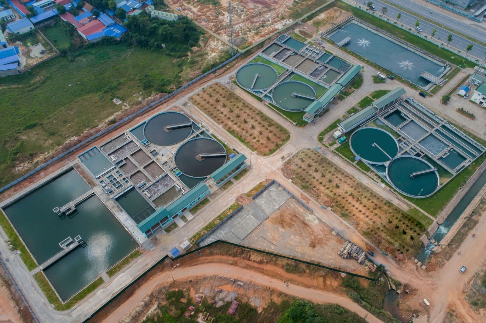 Xử lý nước thải tập trung