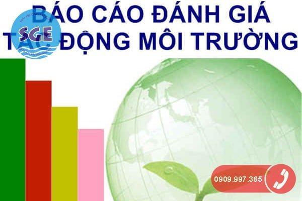 Lập báo cáo đánh giá tác động môi trường