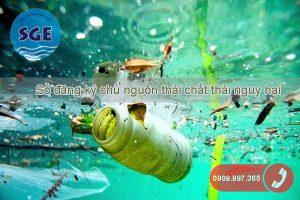 Sổ đăng ký chủ nguồn thải chất thải nguy hại