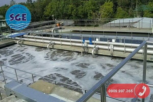 Cải tạo nâng cấp hệ thống xử lý nước thải