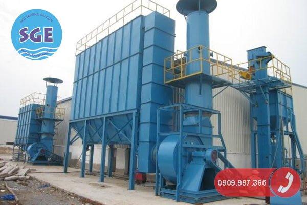Các công trình xử lý khí thải