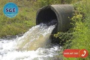 giấy phép xả nước thải vào nguồn nước