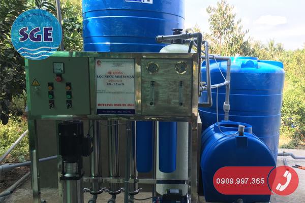 Hệ thống lọc nước lợ nước mặn