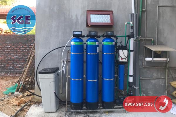 Hệ thống lọc nước máy