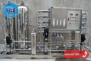 Hệ thống xư lý nước cấp