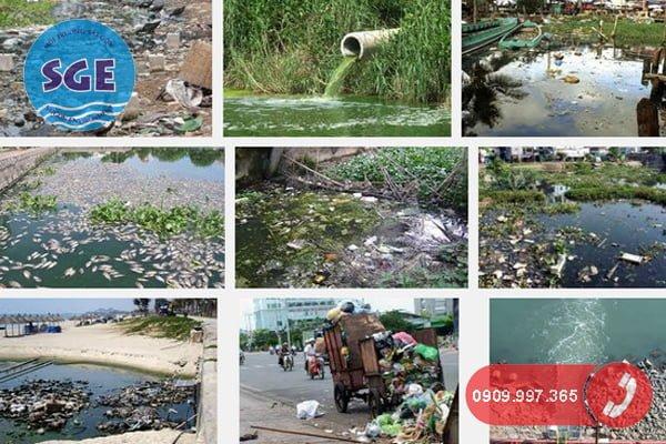 Tác hại của nước thải khu công nghiệp