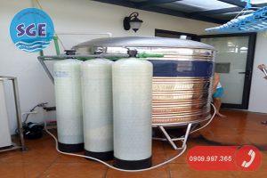 Hệ thống xử lý nước máy