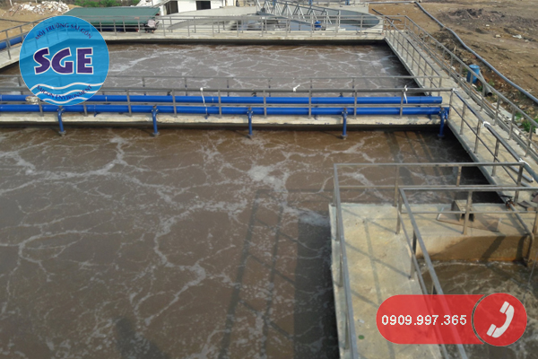 Hệ thống xử lý nước thải nhà máy mía đường