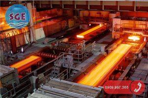 Xử lý nước thải sản xuất thép