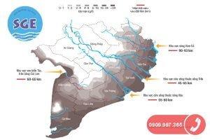 Tình hình nước nhiễm mặn ở đồng bằng sông cửu long
