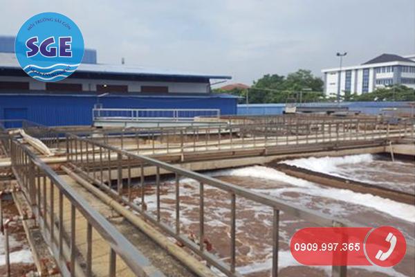 Vi sinh bị chết trong hệ thống xử lý nước thải