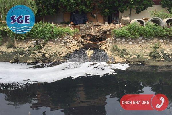 Cách xử lý hành vi xả nước thải ra môi trường