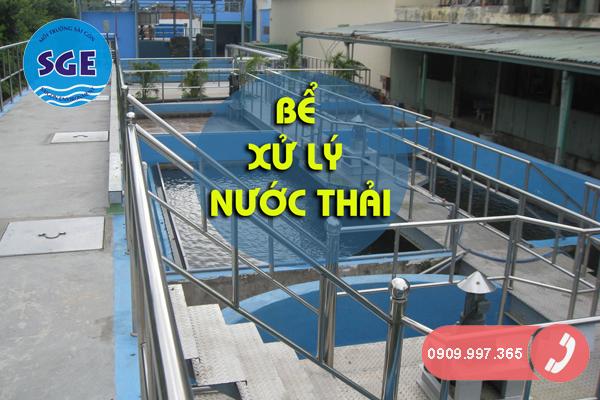 Hệ thống bể xử lý nước thải công nghiệp